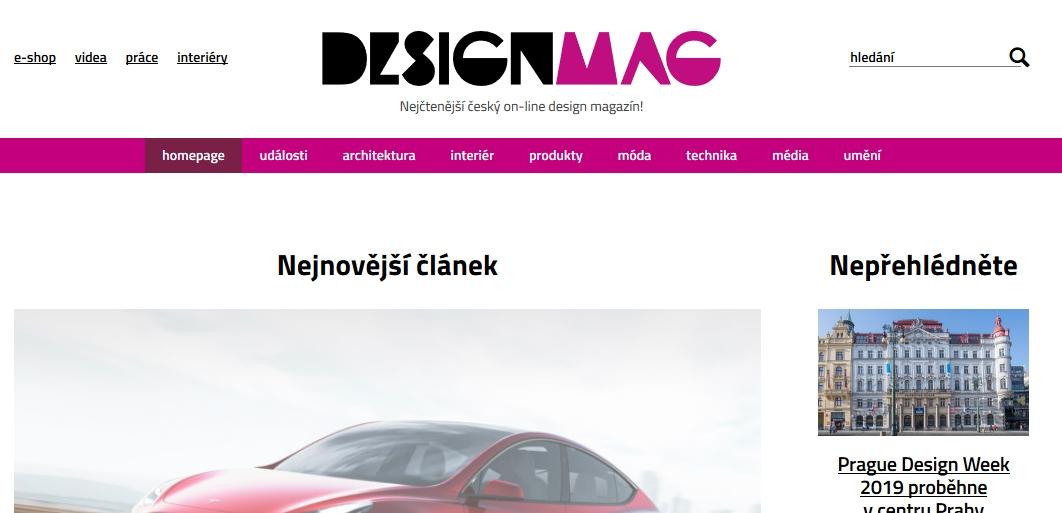 DesignMag: chceš-li být v obraze